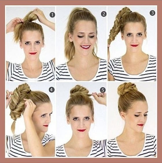 The Best Cute Quick Updos For Shoulder Length Hair Hair Pictures