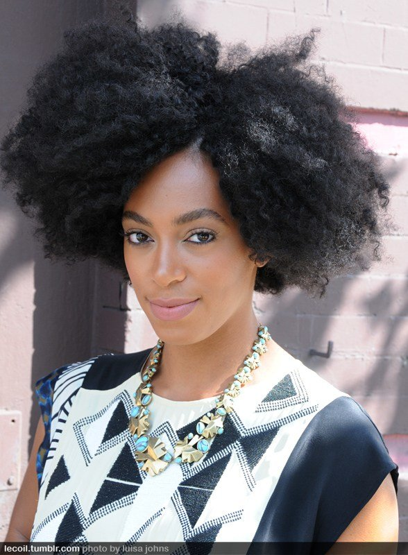The Best Solange Afro – Charcoal Ink Pictures