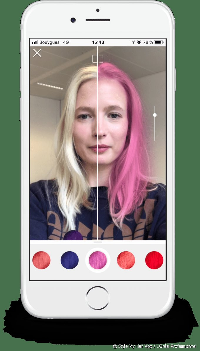 The Best Style My Hair The 3D App That Lets You Try On Hair Color And Hairstyle Pictures