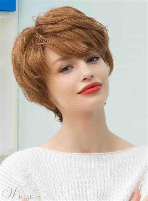 The Best Mishair® Graceful Short Feathered Pixie Haircut With Wispy Pictures