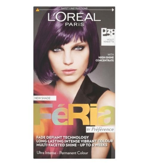 The Best Loreal Feria Violet Vendetta Hair Dye P38 Boots Pictures