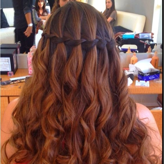 The Best Hairstyle For Weddings Prom Bat Mitzvah Sweet Sixteen Quincenera Bridesmaid Event Get Pictures