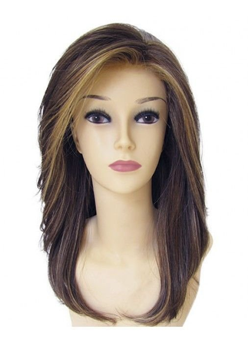 The Best Synthetic Long Lush Below The Shoulder Length Styles Front Pictures