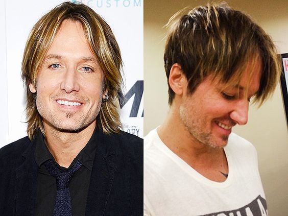 The Best Keith Urban Cuts His Famously Shaggy Hair Into A Shorter Pictures