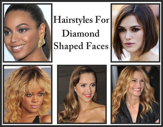 The Best 5 Flattering Hairstyles For Diamond Shaped Faces Shape Pictures