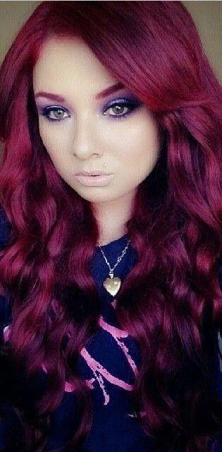 The Best Love Her Deep Red Hair With Matching Eyebrows Hair Pictures