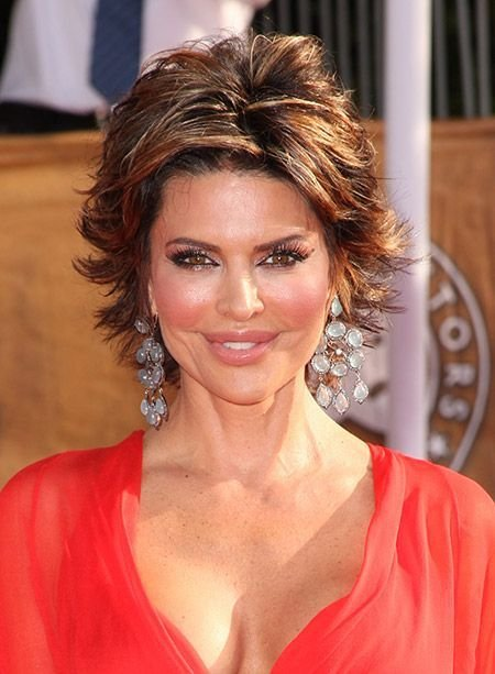 The Best Short Flip Hairstyles Lisa Rinna's Awesome And Fabulous Pictures