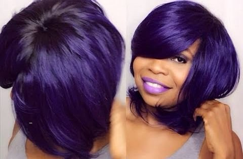 The Best How To Do Quick Weave No Part Purple Saga Brazilian Pictures