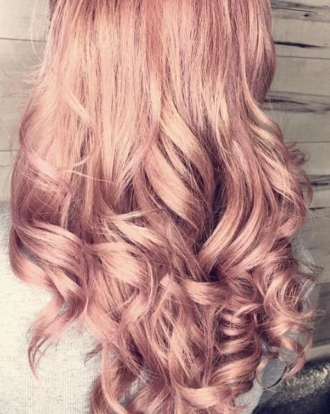 The Best Best 20 Rose Gold Hair Colour Ideas On Pinterest Rose Pictures