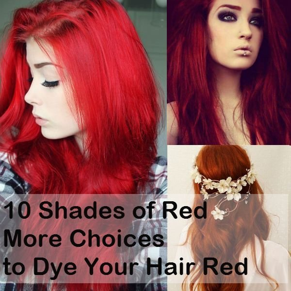 The Best 10 Shades Of Red More Choices To Dye Your Hair Red Pictures