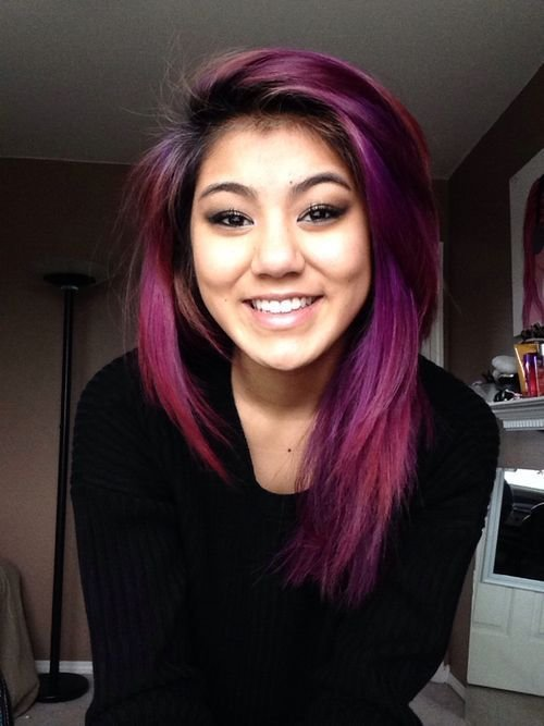 The Best 17 Best Ideas About Pink Hair Streaks On Pinterest Pink Pictures