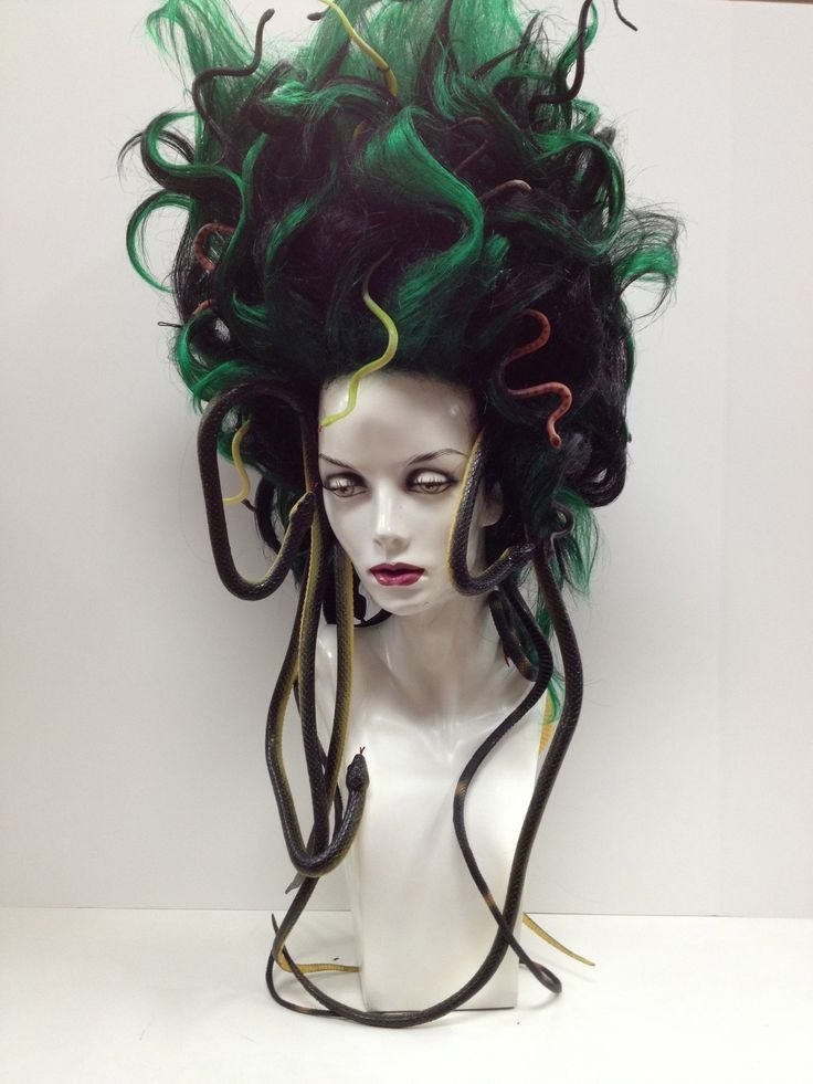The Best Medusa Wig Halloween Holy Cr*P This Is Awesome Crafts Pinterest Awesome This Is Pictures