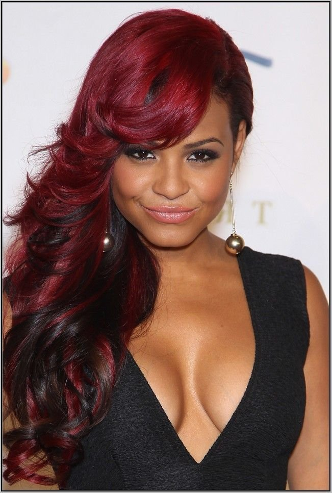 The Best Red Hair Color Shades For Dark Skin Jpg 651×966 Pictures