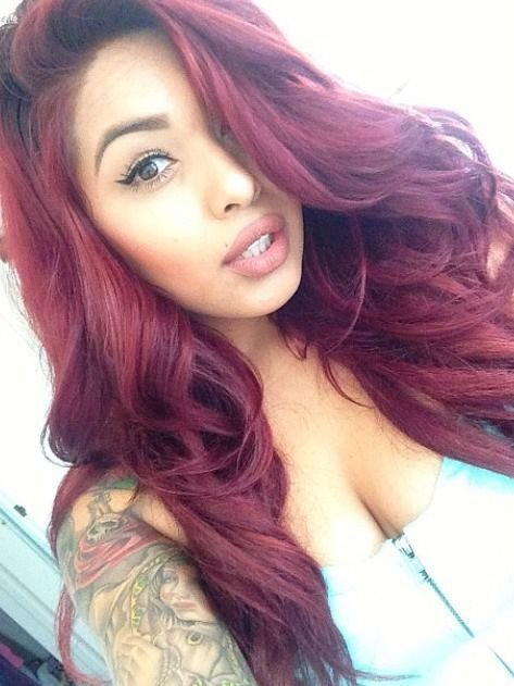 The Best 43 Best Images About Burgundy Hair Color 99J On Pinterest Pictures