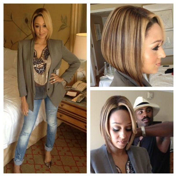 The Best Sleek Classic Bob On Tia Mowry The Big Chop Pictures