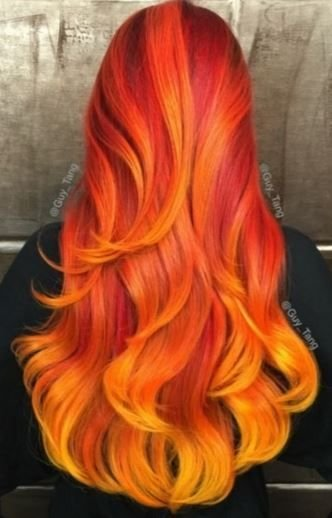 The Best 25 Best Ideas About Fire Hair On Pinterest Fire Ombre Pictures
