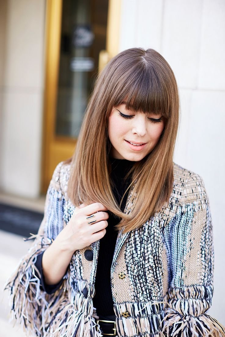 The Best Best 20 Straight Bangs Ideas On Pinterest Short Hair Pictures