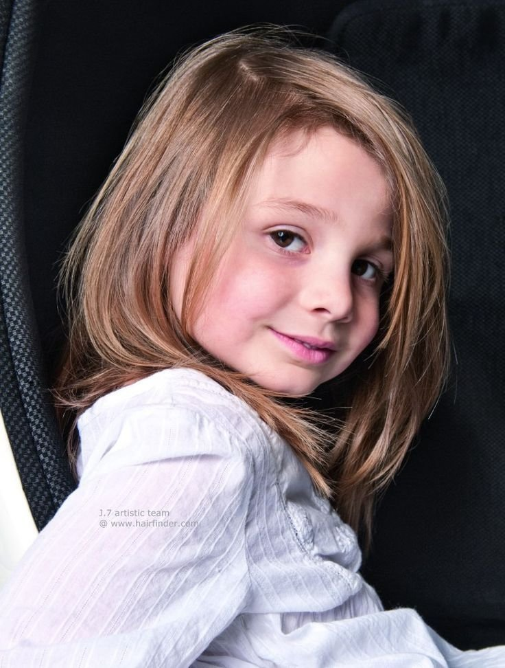 The Best Long Layered Hairstyle For Little Girls With Fine Hair Pictures