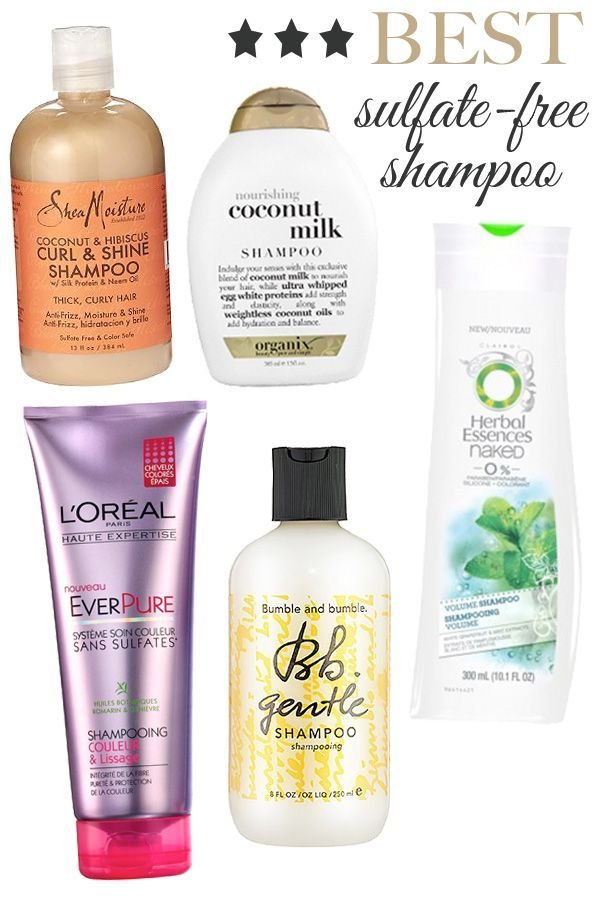 The Best Best 25 Sulfate Free Shampoo Ideas On Pinterest Pictures