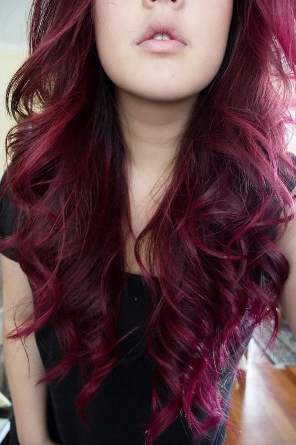 The Best Red Violet Hair Pinterest Beautiful My Hair And Pictures