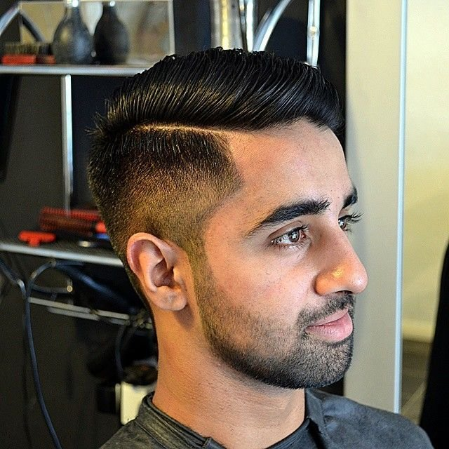 The Best Kieronthebarber S Photo Cheeky One Faded Side Part And Pictures