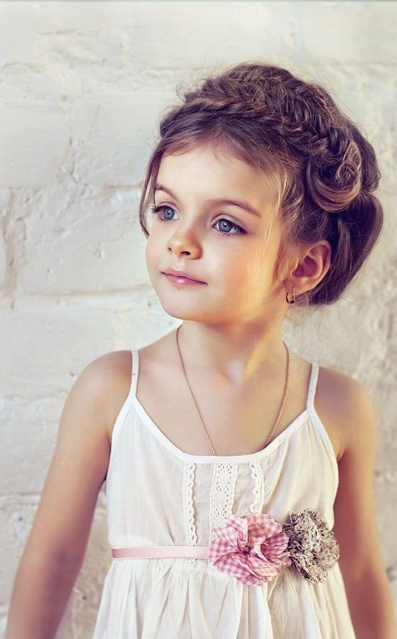 The Best 50 Easy Wedding Hairstyles For Little Girls Wedding Pictures
