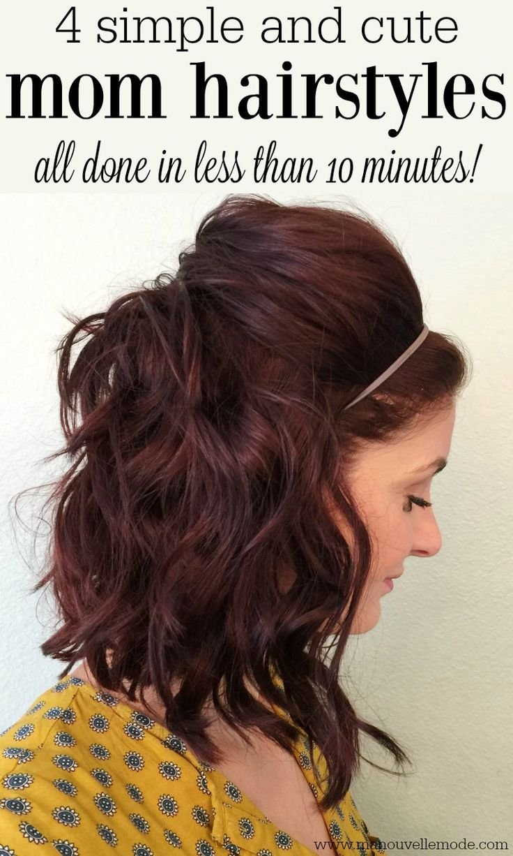 The Best 25 Best Easy Mom Hairstyles Ideas On Pinterest Quick Pictures