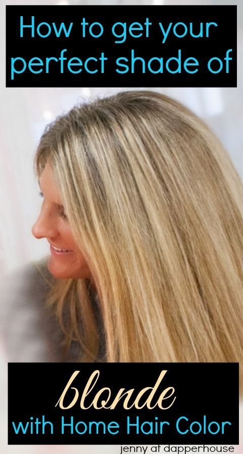 The Best How To Get Your Perfect Shade Of Blonde With At Home Hair Pictures