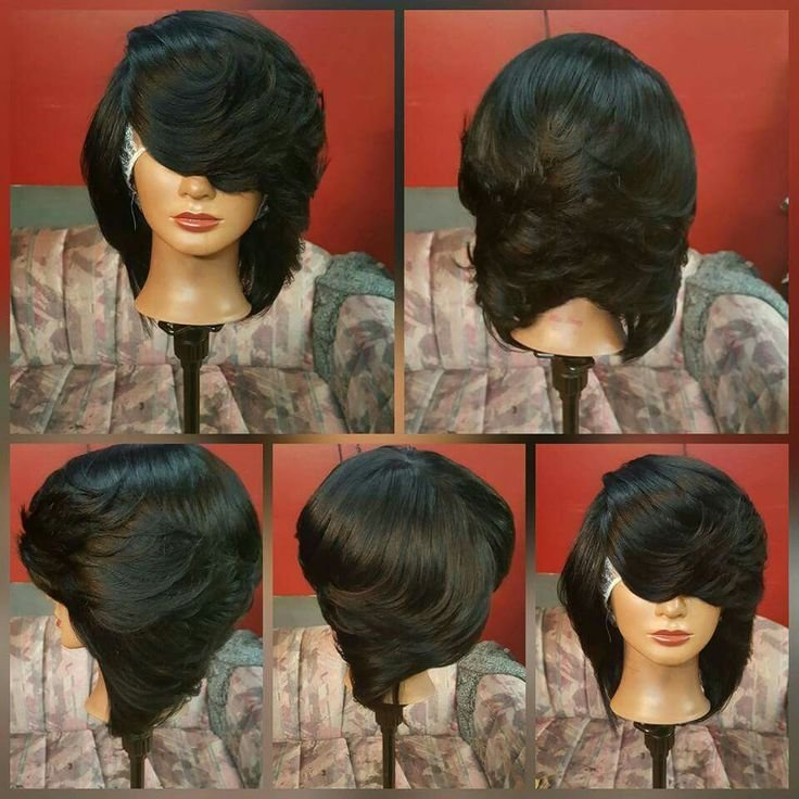 The Best Feathered Black Bob Hair Styles And Ideas Pinterest Pictures