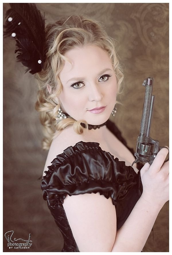The Best Old West Saloon Girl Style Boudoir Photography Black Pictures