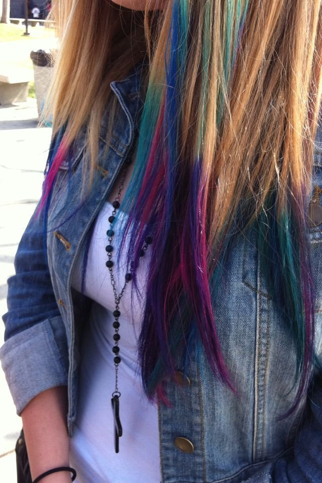 The Best Best 25 Hair Tips Dyed Ideas On Pinterest Pictures