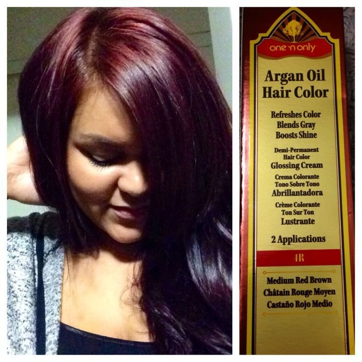The Best Yay For Fall Hair Color One N Only Argan Oil Hair Color 4R With 30 Volume Cream Developer Pictures