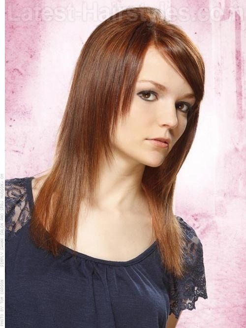 The Best Tapered Straight Hair Only Layered In Front With Side Pictures