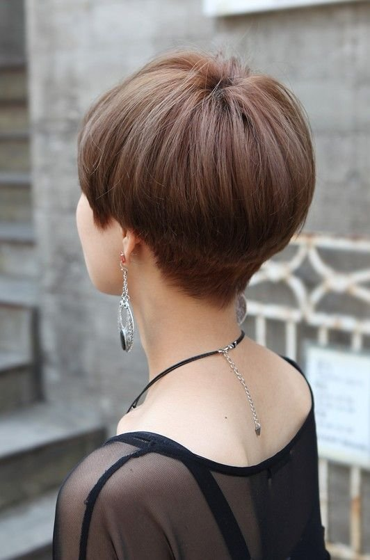 The Best Back View Of Cute Short Japanese Haircut Back View Of Pictures