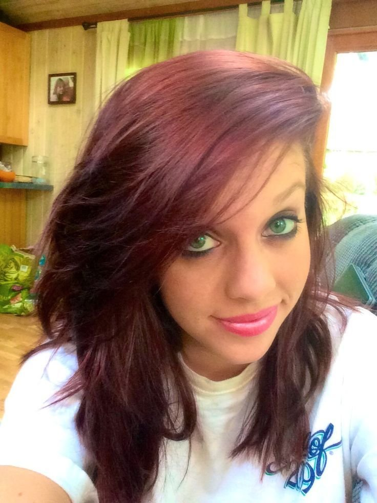 The Best Cherry Cola Hair Color Formula Cherry Cola Hair Color Pictures