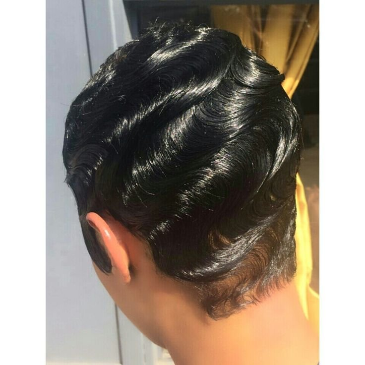 The Best Finger Waves Hair Cuts Pinterest My Hair Style And Pictures