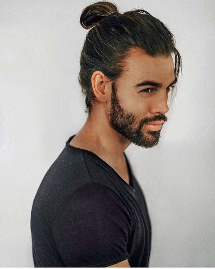The Best 1000 Ideas About Men Ponytail On Pinterest Man Ponytail Long Haircuts For Men And Man Bun Pictures