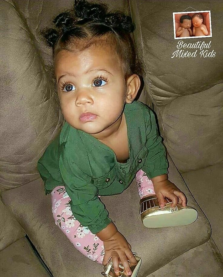 The Best Best 25 Mixed Baby Hairstyles Ideas On Pinterest Pictures