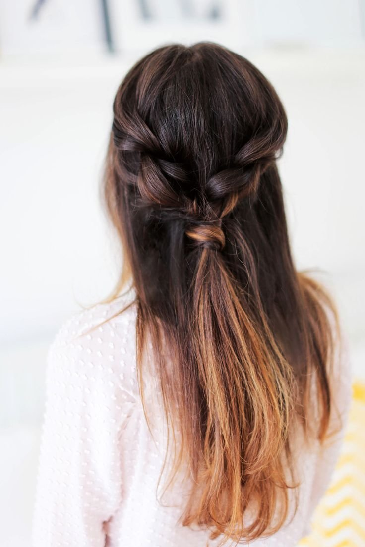 The Best Easy Everyday Hairstyle — Luxy Hair Blog All About Hair Pictures