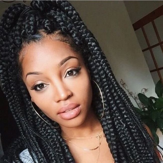 The Best Awesome 55 Cool Single Braids Ideas – Trendy Hairstyles Pictures