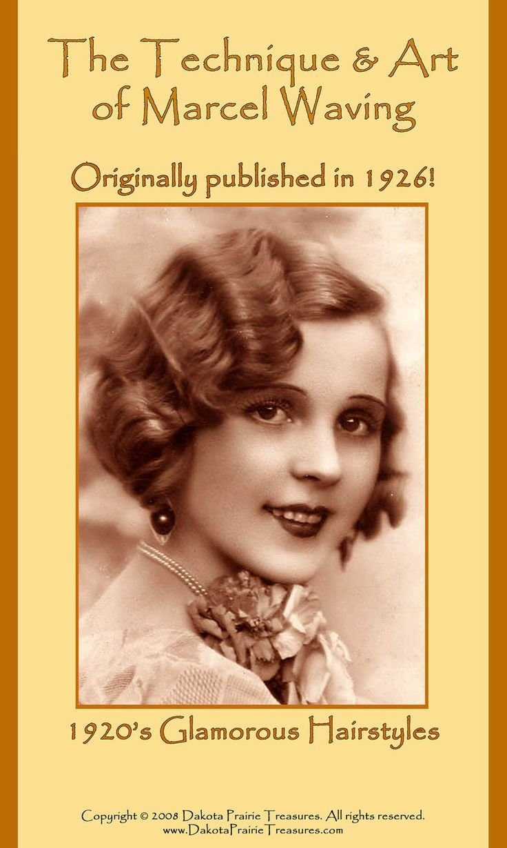 The Best 1926 Hairstyles Book Roaring 20S Flapper Marcel Wave Hair Pictures
