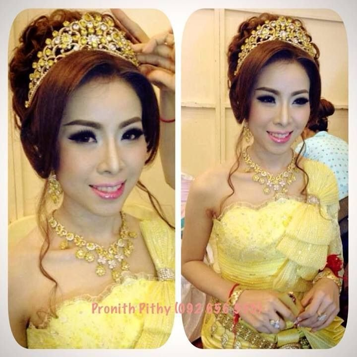 The Best Cambodia Wedding Dress Khmer Bride Traditional Dress Pictures