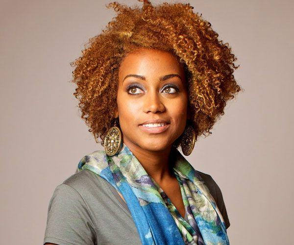 The Best Natural Hairstyles For Black Women Love Her Hair Color And Hair Type Which Is Like Mine Can T Pictures