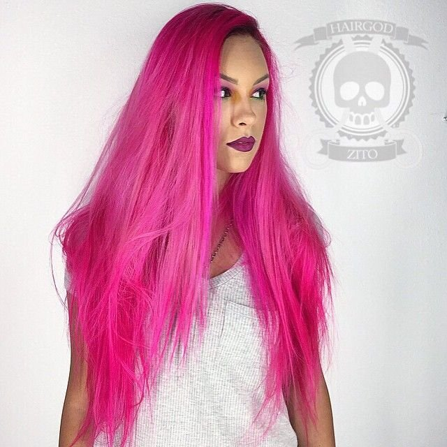 The Best 25 Best Ideas About Hot Pink Hair On Pinterest Bright Pictures