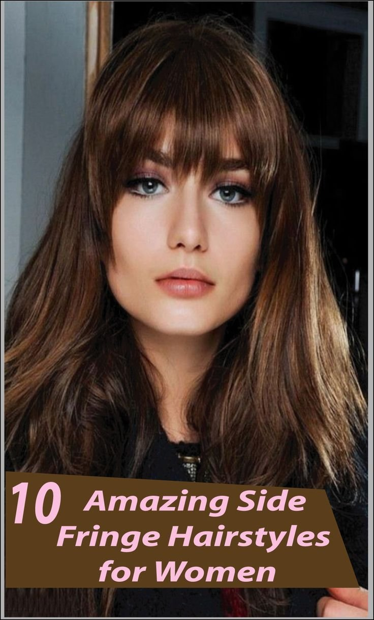 The Best 1000 Ideas About Side Fringe Hairstyles On Pinterest Side Fringe Long Side Fringe And Fringes Pictures