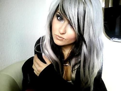The Best Black And Platinum Hair Black And Platinum Hair Google Pictures
