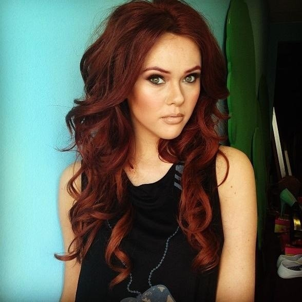 The Best Beautiful Red Hair Color Perfect To Add For Winter A Pictures