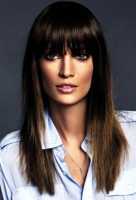 The Best 17 Best Ideas About Full Fringe Hairstyles On Pinterest Pictures