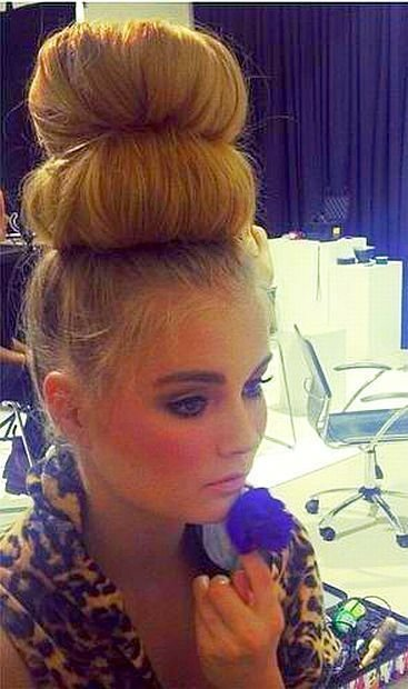 The Best 630 Best Images About Bun Hairstyles On Pinterest Pictures