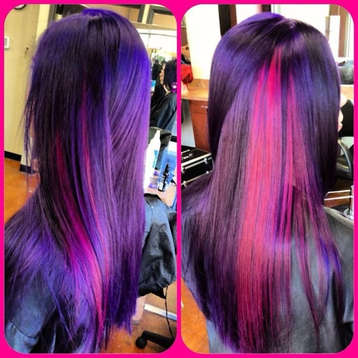 The Best Pravana Vivids Violet And Wild Orchid For The Love Of Pictures